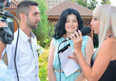 Шуточное интервью на свадьбе / Бердичев