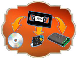Оцифровка видеокассет VHS в Житомире